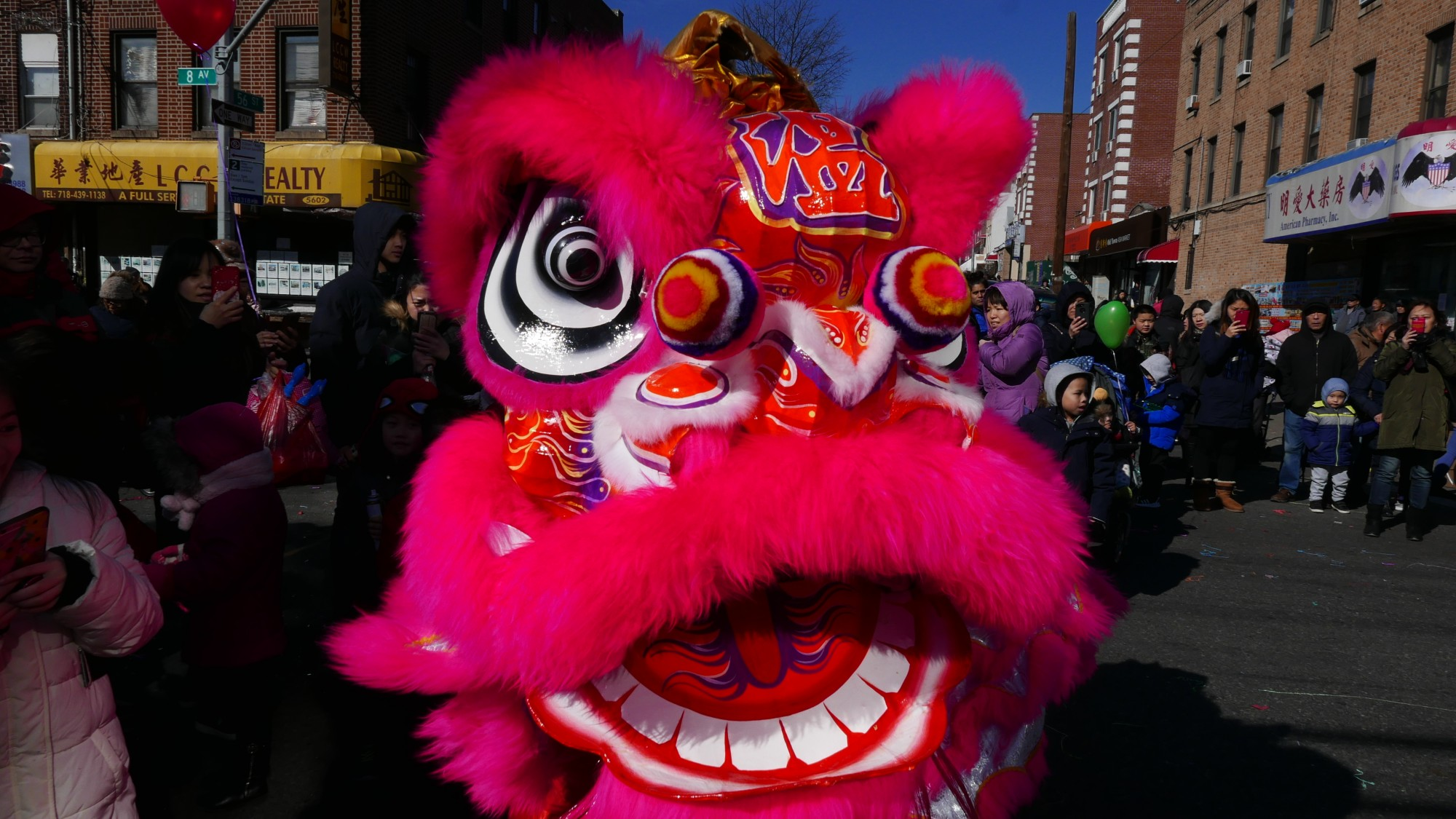 Dragons, Lions, Pigs and Fireworks Ring in the Lunar New Year in Sunset Park